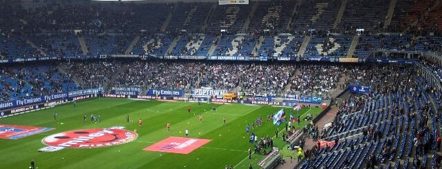 Volksparkstadion is one of StorefrontSticker #4sqCities: Hamburg.
