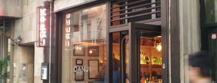 Danji is one of NYC Restaurants Tried and True.