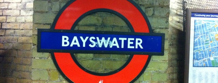 Bayswater London Underground Station is one of Underground Stations in London.
