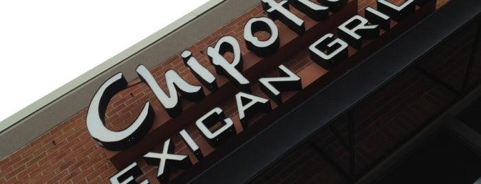 Chipotle Mexican Grill is one of Lugares favoritos de Melisa.