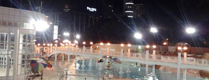 Kowloon Park Swimming Pool is one of ГК.