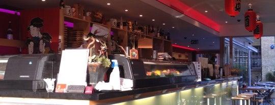 Teri-Aki Restaurant & Bar is one of Lon.