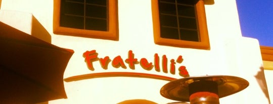 Fratelli's is one of Lugares favoritos de John.