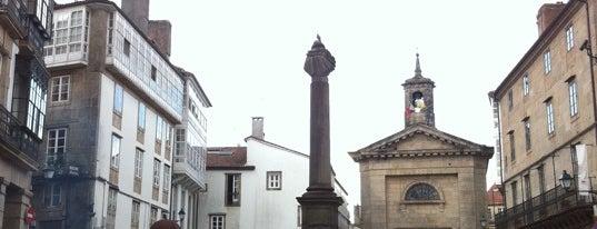 Praza de Cervantes is one of Hip to Be Square!.
