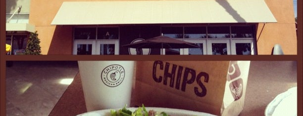 Chipotle Mexican Grill is one of Orange Anaheim.