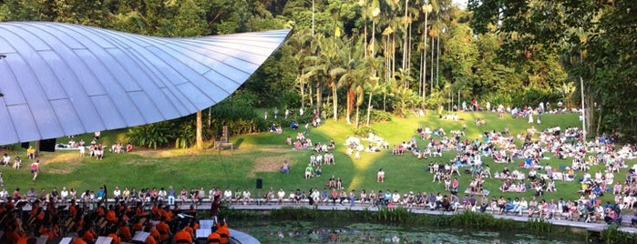 Singapore Botanic Gardens is one of Singapore.