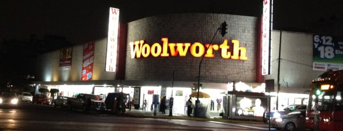 Woolworth is one of Orte, die Stephania gefallen.
