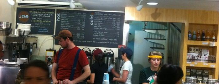 Joe Coffee is one of NY Espresso.