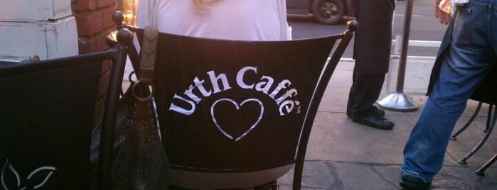 Urth Caffé is one of KCRW PieGuide.