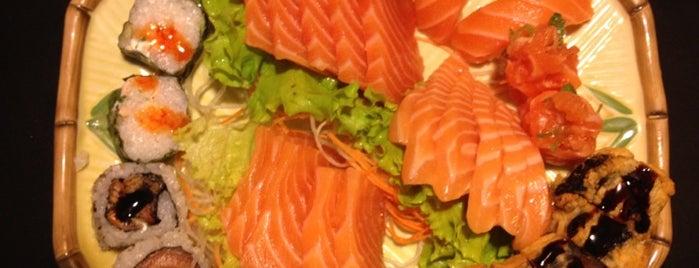 Okazaki Sushi is one of Veja Comer & Beber ABC - 2012/2013 - Restaurantes.
