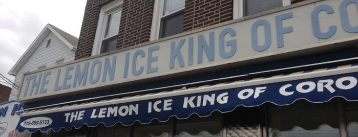 The Lemon Ice King of Corona is one of New York City.