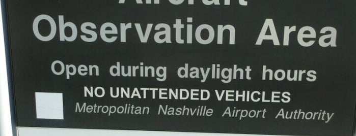BNA Aircraft Observation Lot is one of Aviation Geek!.