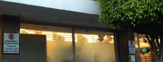 Farmacias Guadalajara is one of Cristina : понравившиеся места.