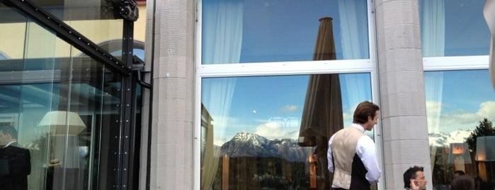 Art Deco Hotel Montana is one of สถานที่ที่บันทึกไว้ของ Katerina.