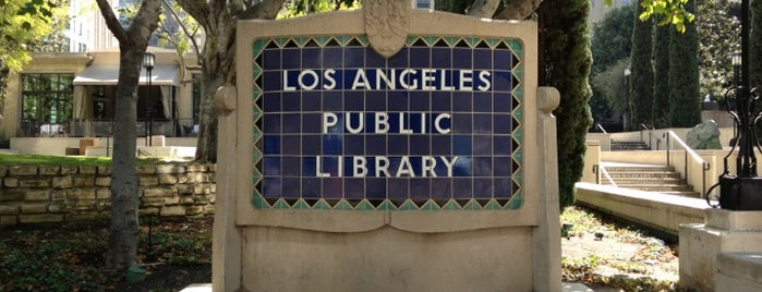 Los Angeles Public Library - Central is one of Books everywhere I..