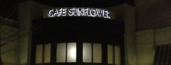 Cafe Sunflower Sandy Springs is one of Veggie friendly favorites.