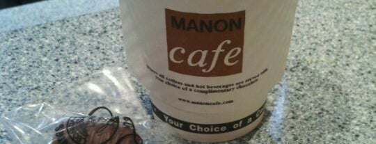 Manon Cafe is one of New York City Coffee by Subway Stop.