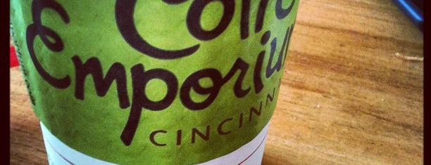 Coffee Emporium is one of Cincinnati.