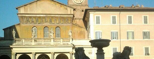 Basilica di Santa Maria in Trastevere is one of Roma.