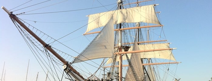 Star of India is one of Ships (historical, sailing, original or replica).