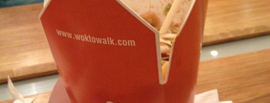 Wok to Walk is one of Restaurantes.