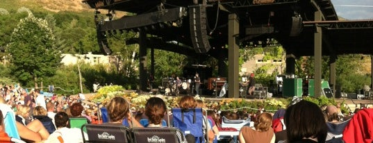 Red Butte Garden's Amphitheatre is one of InSite - Salt Lake City.