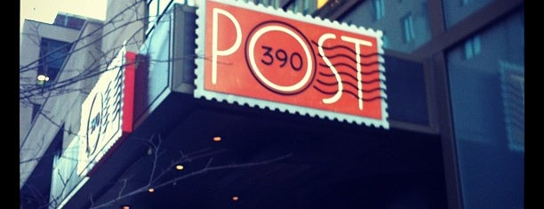 Post 390 is one of Bars in Boston With Fireplaces.