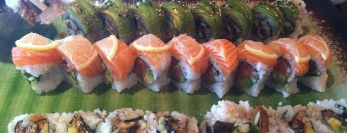 Deep Sushi is one of Lugares favoritos de Jim.