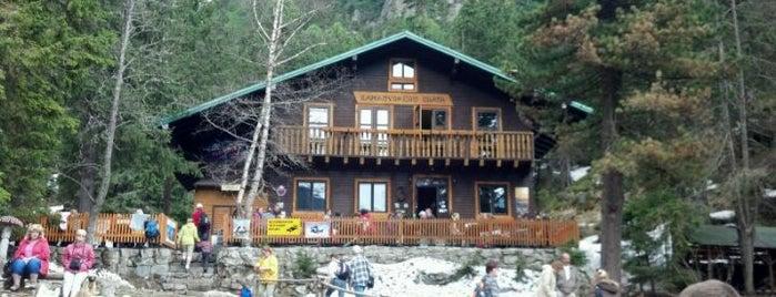 Zamkovského chata is one of Turistické chaty SK, CZ, PL.