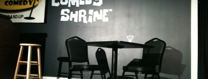 The Comedy Shrine Theater is one of Comedy & Theater in Chicagoland.