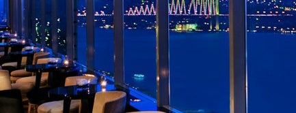 City Lights Restaurant & Bar InterContinental Istanbul is one of Dene 2.