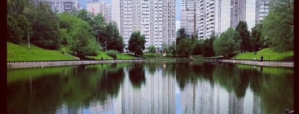 Пруд на Беловежской is one of Tempat yang Disukai Taia.