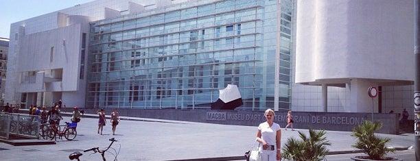 Museu d'Art Contemporani de Barcelona (MACBA) is one of Barcelona.