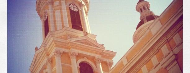Iglesia San Ignacio de Loyola is one of [S]antiago.