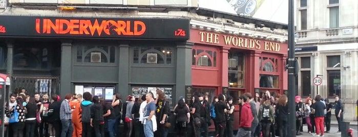 The Underworld is one of Kim's London Favs & Wishlist.
