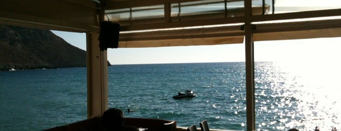 Domus Beach Club & Bar on Kantouni Beach is one of Visited.