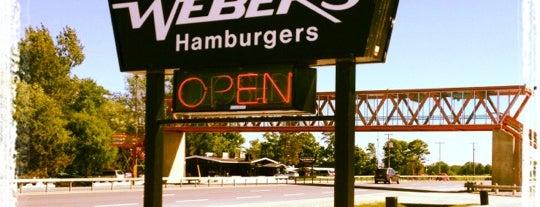 Webers Hamburgers is one of Sarah : понравившиеся места.