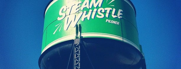 Steam Whistle Brewing is one of CAN Toronto Favourites.
