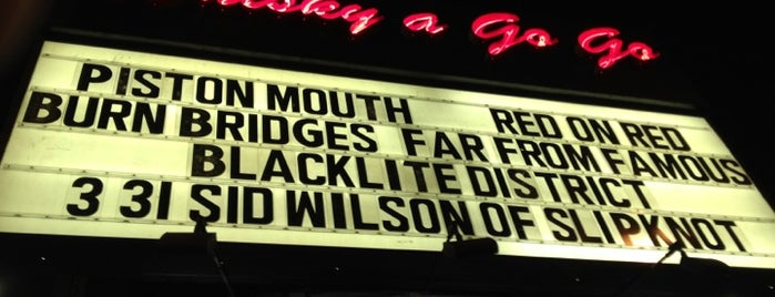 Whisky a Go Go is one of Places to Perform..