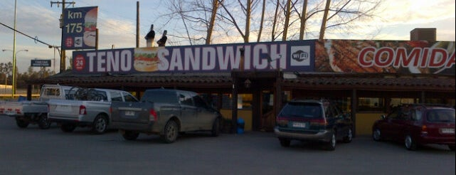 Teno Sandwich Poniente is one of Rodrigoさんのお気に入りスポット.