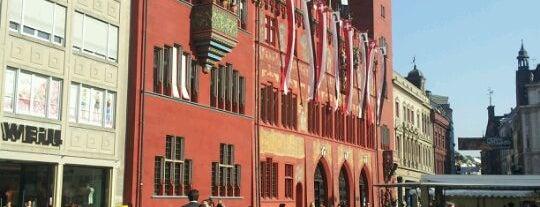 Marktplatz is one of Basel.