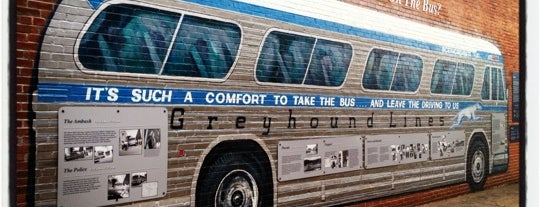 Freedom Riders Bus is one of Follow the 1961 Freedom Rides.
