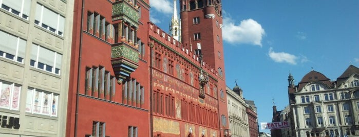 Marktplatz is one of Basel.