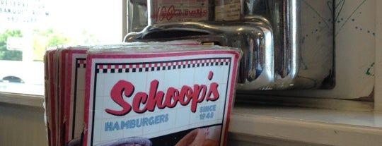Schoop's Hamburgers is one of Michelle : понравившиеся места.