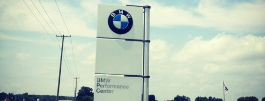 BMW Performance Center is one of Gespeicherte Orte von Joshua.