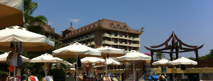 Royal Dragon Hotel Side is one of Antalya.