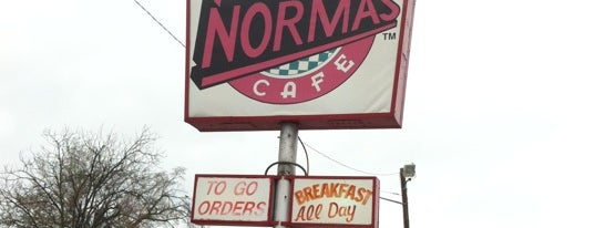 Norma's Cafe is one of Eats.