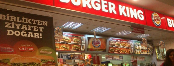 Burger King is one of Lieux qui ont plu à BuRcak.