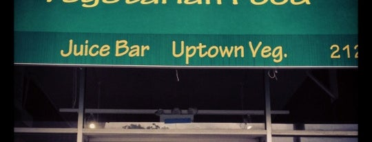 Uptown Vegetarian Food & Juice Bar is one of Food.