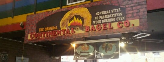 Continental Bagel is one of Ottawa.